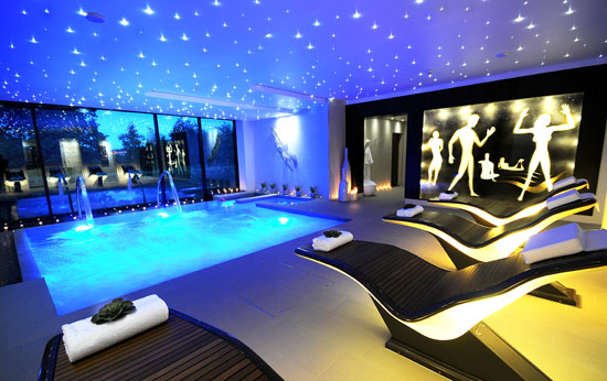 A sparkling spa - day or night