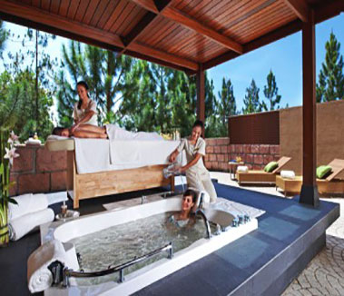 Dream destination spa for New Year